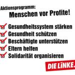 Aktionsprogramm: Menschen vor Profite!